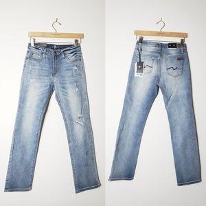 •7FAM• Boys Standard Straight Leg Jean.